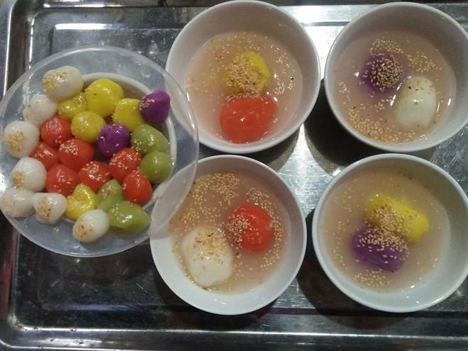 Tết Hàn thực năm nay, chị em đua nhau khoe bánh trôi bánh chay ngũ sắc đẹp mắt thơm ngon - Ảnh 12.