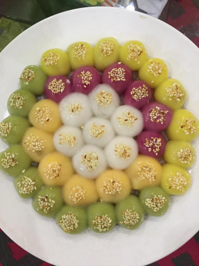 Tết Hàn thực rực rỡ của hội chị em, nhà nhà đua nhau khoe bánh trôi bánh chay ngũ sắc - ảnh 8
