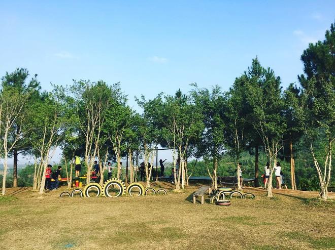 4 resort có khu vui chơi cho trẻ nhỏ chỉ cách trung tâm Hà Nội khoảng 1 giờ đi xe - ảnh 33