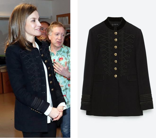 Trang phục giúp Hoàng hậu Letizia tỏa sáng không thể thiếu những món đồ đến từ thương hiệu Zara  - Ảnh 3.