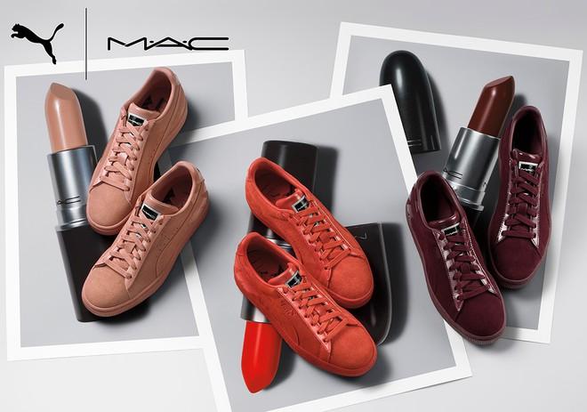 Kết hợp cùng Puma, MAC cho ra mắt loạt son cùng màu với giày đẹp cực phẩm  - Ảnh 2.