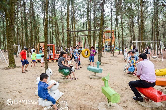 4 resort có khu vui chơi cho trẻ nhỏ chỉ cách trung tâm Hà Nội khoảng 1 giờ đi xe - ảnh 22