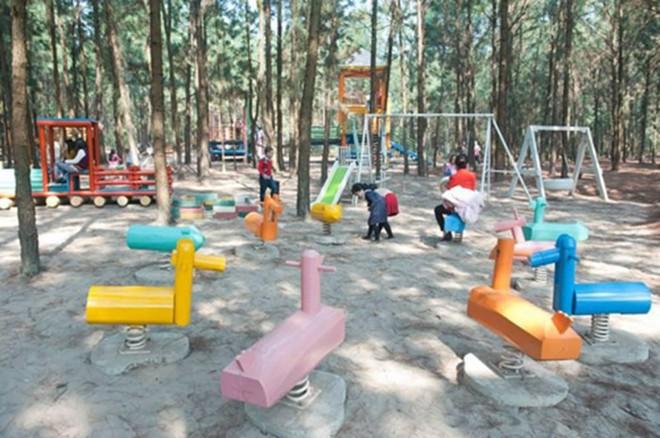 4 resort có khu vui chơi cho trẻ nhỏ chỉ cách trung tâm Hà Nội khoảng 1 giờ đi xe - ảnh 20
