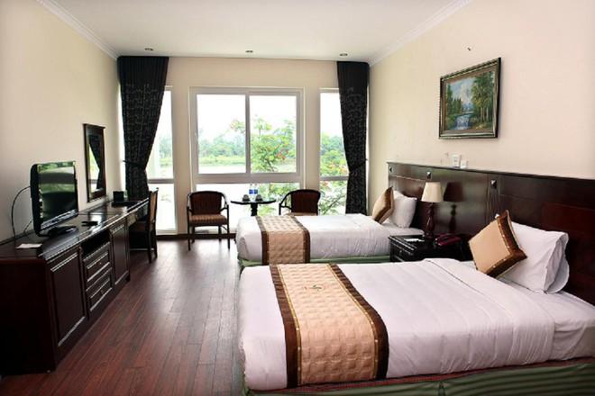 4 resort có khu vui chơi cho trẻ nhỏ chỉ cách trung tâm Hà Nội khoảng 1 giờ đi xe - ảnh 39