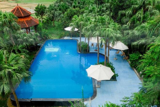 4 resort có khu vui chơi cho trẻ nhỏ chỉ cách trung tâm Hà Nội khoảng 1 giờ đi xe - ảnh 9