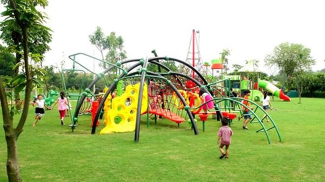 4 resort có khu vui chơi cho trẻ nhỏ chỉ cách trung tâm Hà Nội khoảng 1 giờ đi xe - ảnh 41
