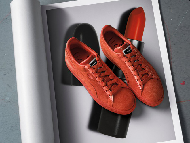 Kết hợp cùng Puma, MAC cho ra mắt loạt son cùng màu với giày đẹp cực phẩm  - Ảnh 4.