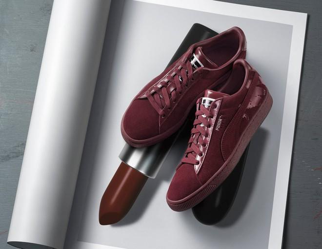 Kết hợp cùng Puma, MAC cho ra mắt loạt son cùng màu với giày đẹp cực phẩm  - Ảnh 3.