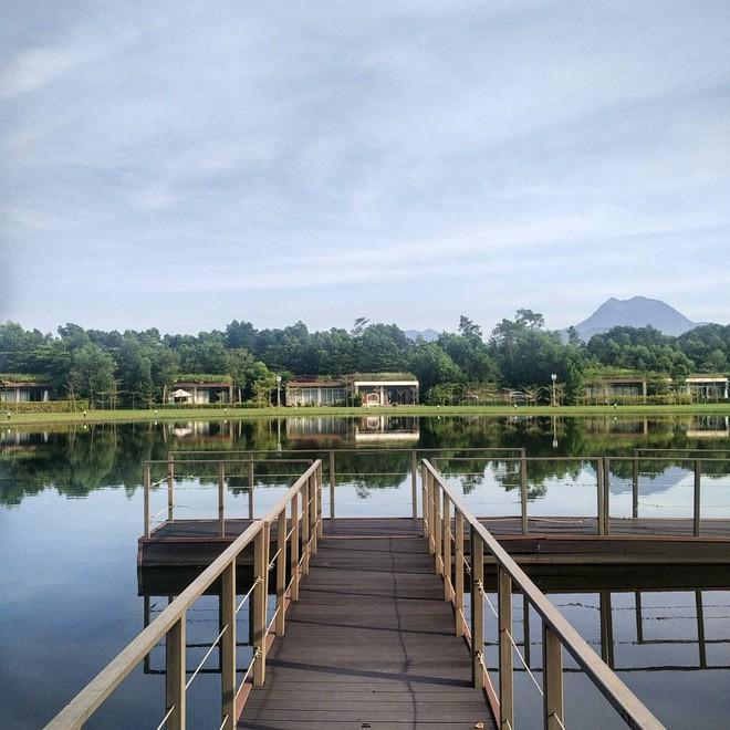 4 resort có khu vui chơi cho trẻ nhỏ chỉ cách trung tâm Hà Nội khoảng 1 giờ đi xe - ảnh 13