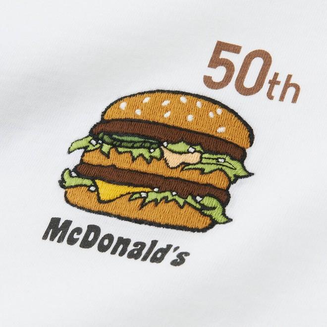 Uniqlo hợp tác với McDonald's ra mắt bộ áo phông siêu cute, mặc đi ăn sẽ được giảm giá 21.000 đồng - Ảnh 3.