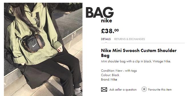 Giá bình dân lại chất không kém đồ hiệu, mẫu túi đeo chéo mini của Nike đang thu phục hàng loạt bạn trẻ châu Á - Ảnh 4.