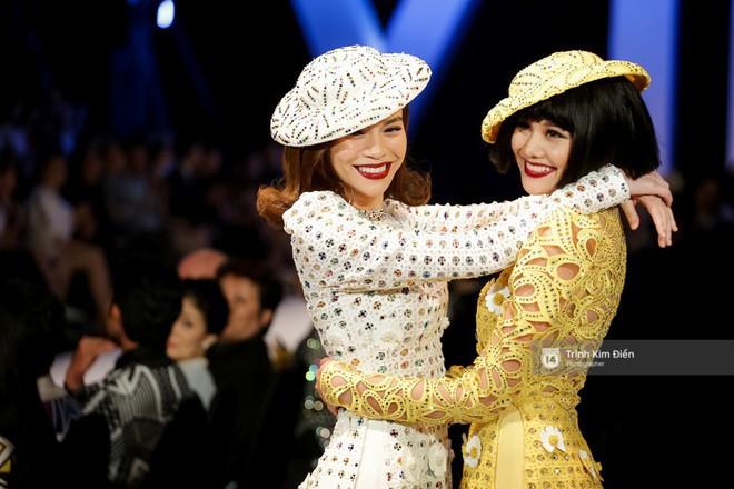 Bất ngờ chưa: Sau 5 năm, Hà Hồ và Thanh Hằng lại nắm tay nhau phá đảo show Công Trí - Ảnh 5.