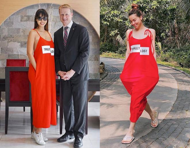 Cùng diện một thiết kế váy 550 nghìn của Zara, Hà Anh dù bầu bí nhưng không hề kém đẹp hơn Hà Hồ - Ảnh 5.