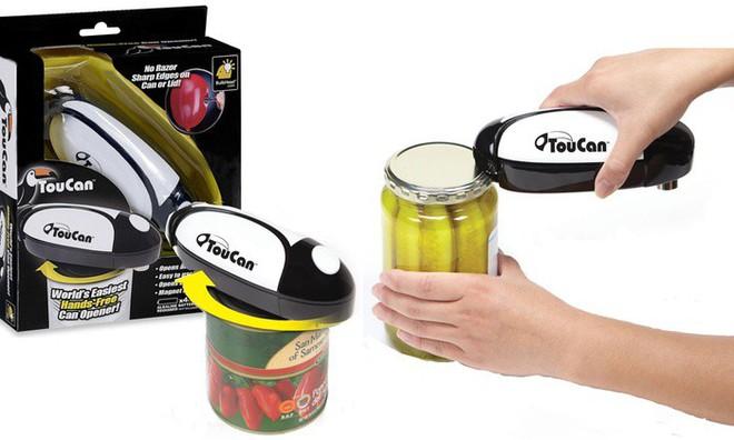 Nếu bạn thích ăn đồ đóng hộp, phải sắm ngay dụng cụ mở nắp siêu hay ho này - Ảnh 2.