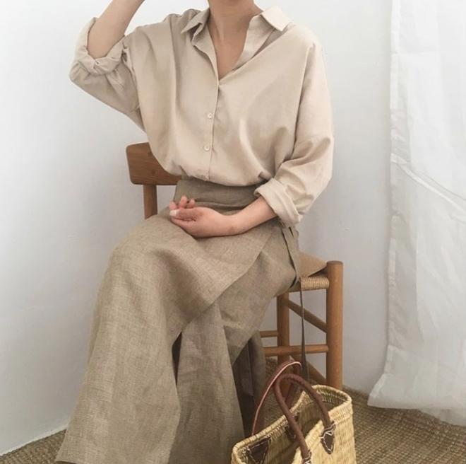 Những chiếc váy vải thô đũi xinh xẻo này sẽ món đồ cực hợp diện cuối tuần  - Ảnh 11.
