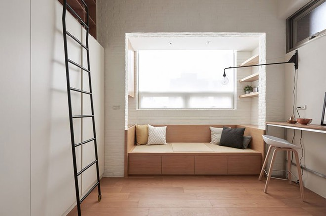 Chỉ 22m² nhưng từng centimet trong căn hộ đều khiến bạn phải trầm trồ vì không thể hợp lý hơn - Ảnh 3.