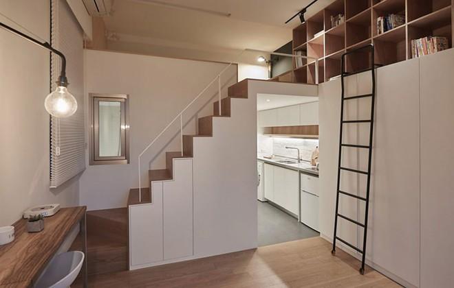 Chỉ 22m² nhưng từng centimet trong căn hộ đều khiến bạn phải trầm trồ vì không thể hợp lý hơn - Ảnh 6.