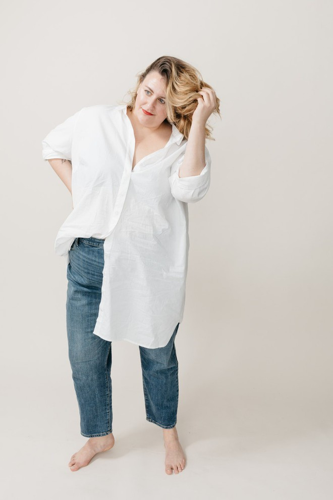 Cảm nhận thật nhất từ nàng cò hương đến ngoại cỡ khi mặc thử 3 dáng quần jeans quen thuộc - Ảnh 13.