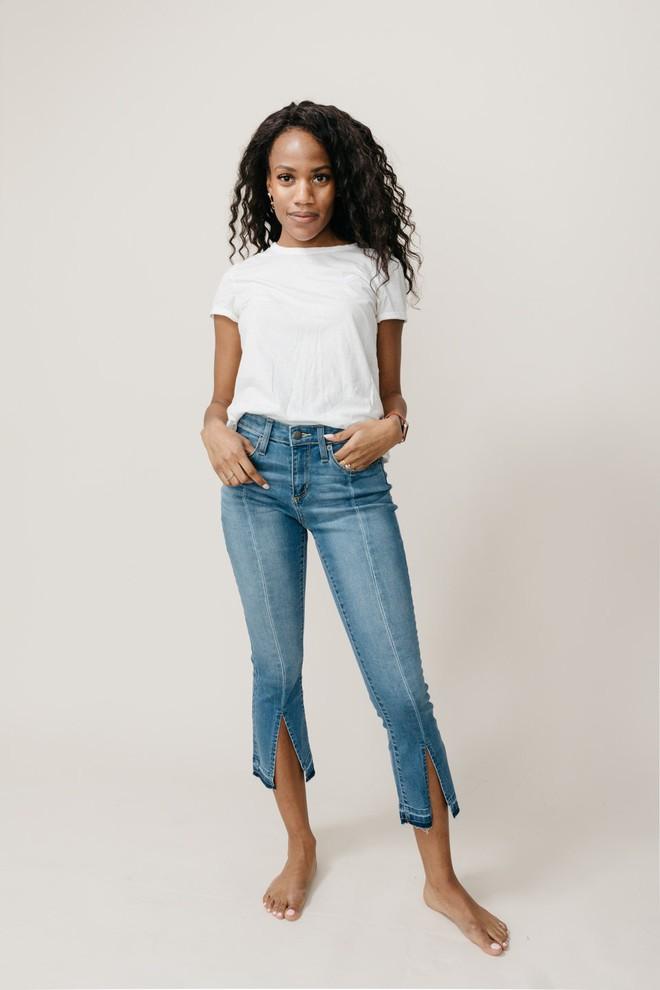 Cảm nhận thật nhất từ nàng cò hương đến ngoại cỡ khi mặc thử 3 dáng quần jeans quen thuộc - Ảnh 14.