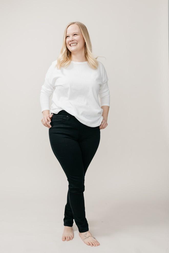 Cảm nhận thật nhất từ nàng cò hương đến ngoại cỡ khi mặc thử 3 dáng quần jeans quen thuộc - Ảnh 19.
