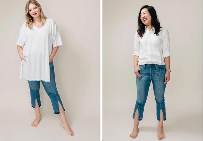 Cảm nhận thật nhất từ nàng cò hương đến ngoại cỡ khi mặc thử 3 dáng quần jeans quen thuộc - Ảnh 7.