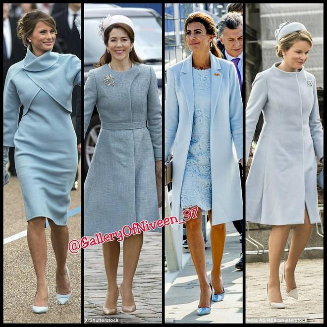 Để ý mới thấy phong cách của bà Melania Trump được lấy ý tưởng từ các nhân vật Hoàng gia - Ảnh 5.