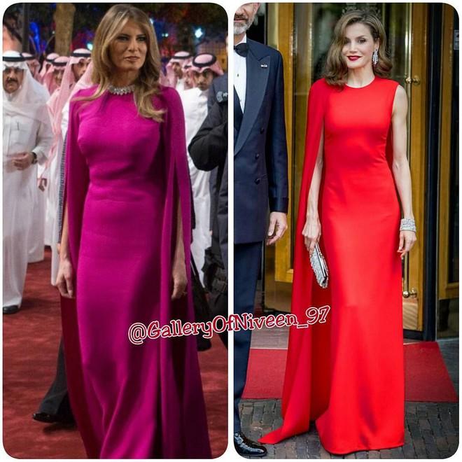 Để ý mới thấy phong cách của bà Melania Trump được lấy ý tưởng từ các nhân vật Hoàng gia - Ảnh 4.