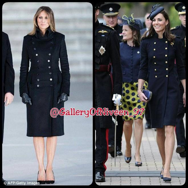 Để ý mới thấy phong cách của bà Melania Trump được lấy ý tưởng từ các nhân vật Hoàng gia - Ảnh 7.