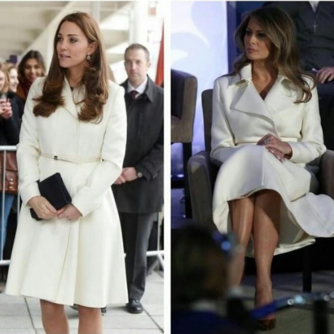 Để ý mới thấy phong cách của bà Melania Trump được lấy ý tưởng từ các nhân vật Hoàng gia - Ảnh 8.