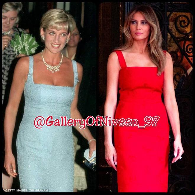 Để ý mới thấy phong cách của bà Melania Trump được lấy ý tưởng từ các nhân vật Hoàng gia - Ảnh 11.
