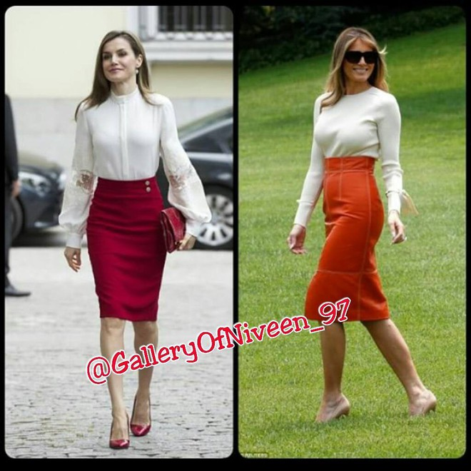 Để ý mới thấy phong cách của bà Melania Trump được lấy ý tưởng từ các nhân vật Hoàng gia - Ảnh 3.