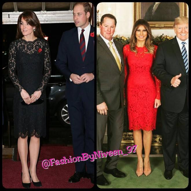 Để ý mới thấy phong cách của bà Melania Trump được lấy ý tưởng từ các nhân vật Hoàng gia - Ảnh 6.