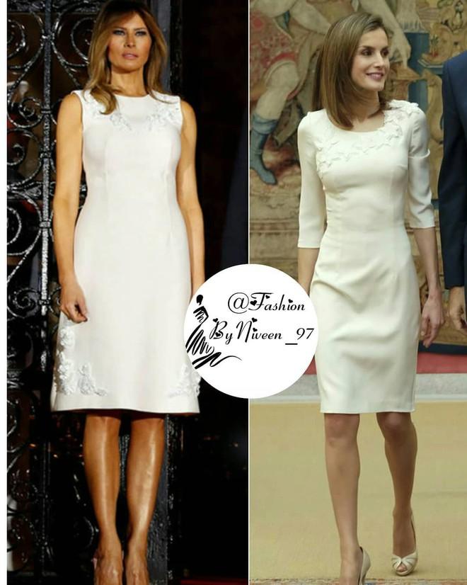 Để ý mới thấy phong cách của bà Melania Trump được lấy ý tưởng từ các nhân vật Hoàng gia - Ảnh 1.