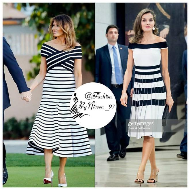 Để ý mới thấy phong cách của bà Melania Trump được lấy ý tưởng từ các nhân vật Hoàng gia - Ảnh 2.