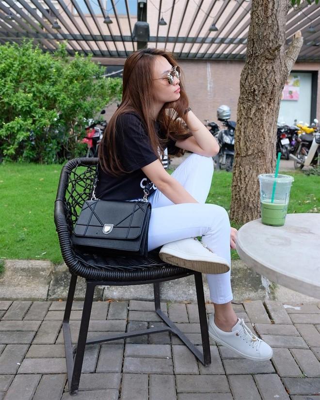 Ai cũng biết lý do Đàm Thu Trang không hay đi giày cao gót, nhưng rõ ràng người đẹp kết hợp giày/dép bệt rất đúng trend - Ảnh 5.