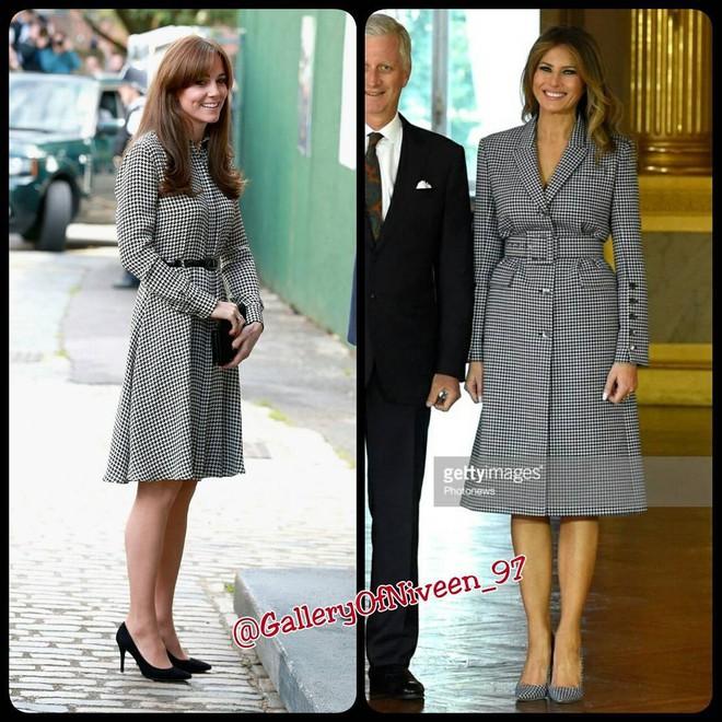 Để ý mới thấy phong cách của bà Melania Trump được lấy ý tưởng từ các nhân vật Hoàng gia - Ảnh 10.