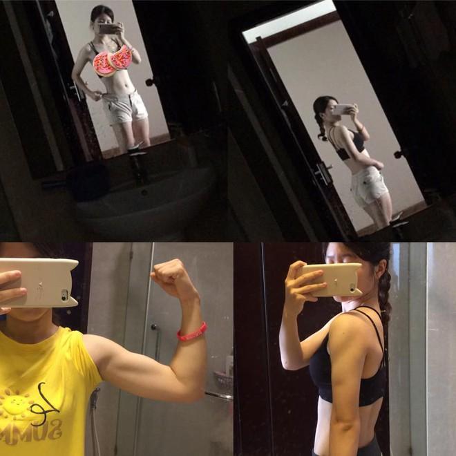 Đừng nhìn vào cân nặng rồi o ép phải giảm cân, hãy học bí quyết giảm mỡ, tăng cơ của cô gái này để luôn khỏe đẹp dài lâu! - Ảnh 16.