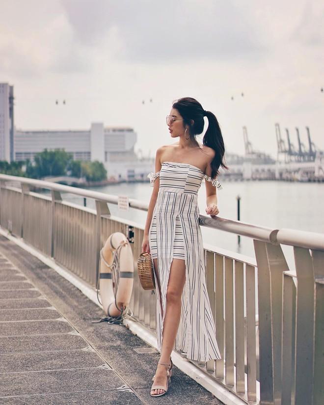 Mùa hè là phải mặc váy dáng dài, nhưng mặc sao cho đẹp thì đây là 5 bí kíp bạn cần bỏ túi - Ảnh 10.