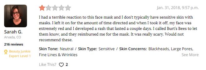 Thử loại mặt nạ có đến 99% thành phần thiên nhiên, cô nàng này đã gặp phải trải nghiệm tồi tệ chưa từng có - Ảnh 8.