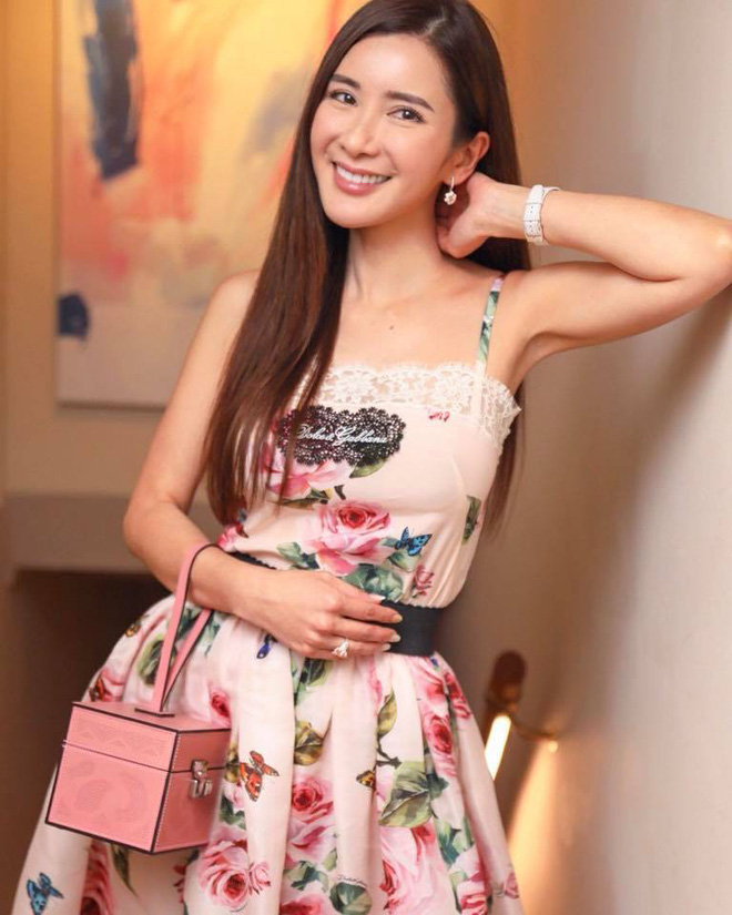 Jamie Chua - bà hoàng sở hữu nhiều túi Hermes nhất thế giới, lộ nhan sắc khác lạ, cằm ngày càng dài ngoằng và nụ cười gượng gạo vô hồn - Ảnh 9.
