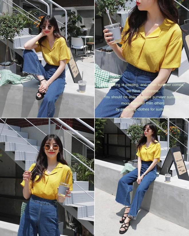 Không cần chọn kiểu dáng, chỉ cần kết hợp cùng 5 gam màu này là set đồ với quần jeans nhìn long lanh hết mức - Ảnh 11.
