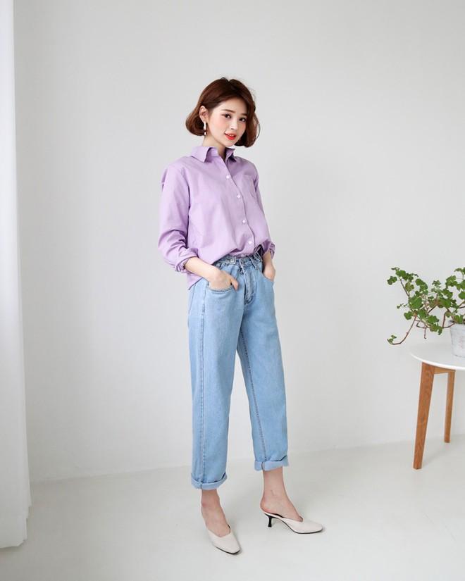 Không cần chọn kiểu dáng, chỉ cần kết hợp cùng 5 gam màu này là set đồ với quần jeans nhìn long lanh hết mức - Ảnh 7.