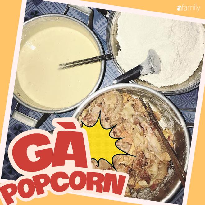 Cô gái 9X chia sẻ công thức làm gà popcorn tuyệt đỉnh hút 16 ngàn lượt like share MXH - Ảnh 2.
