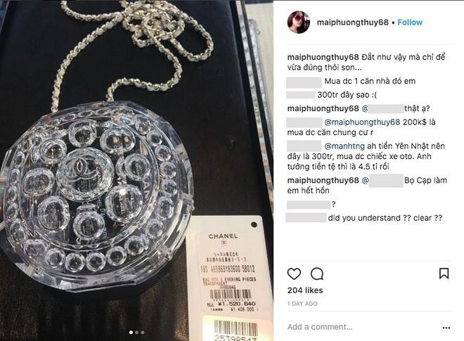 Nếu bạn chưa biết thì Mai Phương Thúy vừa mua chiếc túi chỉ đựng được thỏi son giá 300 triệu đồng - Ảnh 3.