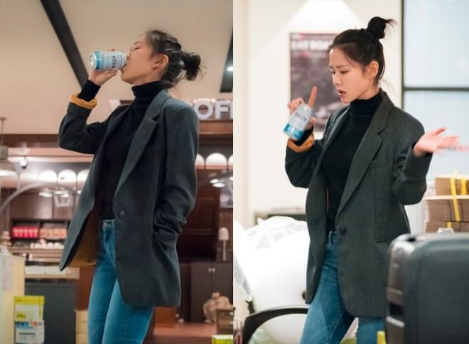 Yêu trai trẻ sáng láng như Joon Hee mà chị đẹp Jin Ah cứ mãi xuề xòa từ trang phục đến đầu tóc thế này kể cũng thấy lo lo - Ảnh 8.