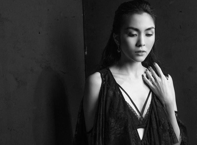 Diện váy ren sexy, Tăng Thanh Hà được khen nhan sắc đỉnh cao - Ảnh 2.