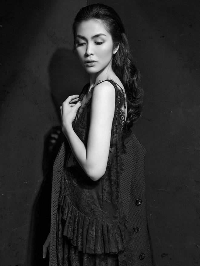 Diện váy ren sexy, Tăng Thanh Hà được khen nhan sắc đỉnh cao - Ảnh 3.