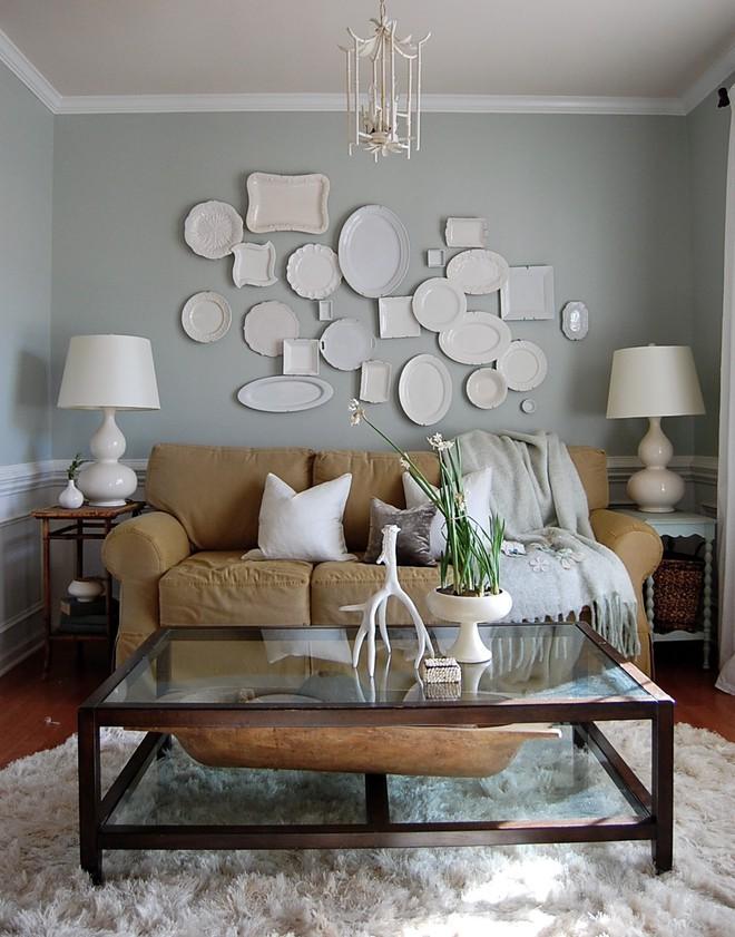 Trang trí tường bằng đĩa vừa rẻ vừa dễ, lại có thể kết hợp được với bất cứ dạng nội thất nào, tại sao bạn không thử? - Ảnh 1.