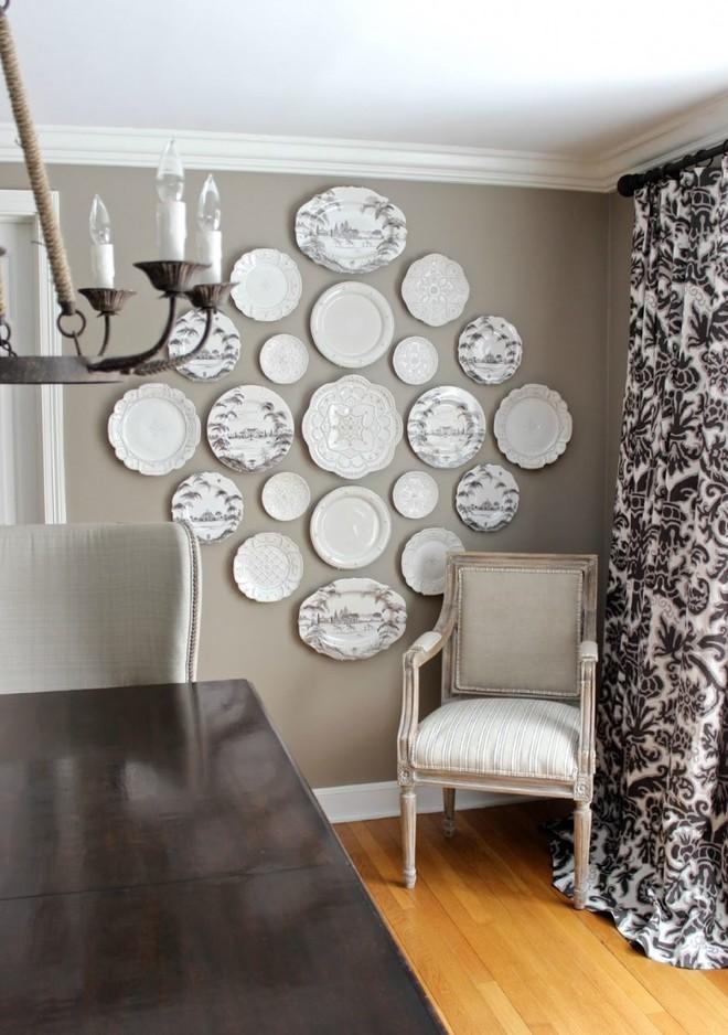 Trang trí tường bằng đĩa vừa rẻ vừa dễ, lại có thể kết hợp được với bất cứ dạng nội thất nào, tại sao bạn không thử? - Ảnh 5.