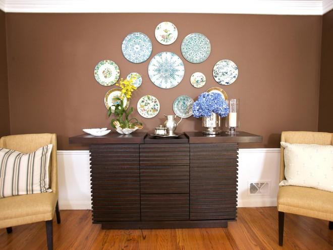 Trang trí tường bằng đĩa vừa rẻ vừa dễ, lại có thể kết hợp được với bất cứ dạng nội thất nào, tại sao bạn không thử? - Ảnh 4.